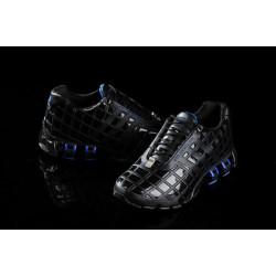 Кроссовки Adidas Porsche P5000 bounce S кожа черный с синим